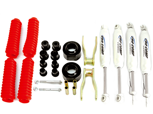 "XJ Kits Réhausses 2"" (5,08cm)"