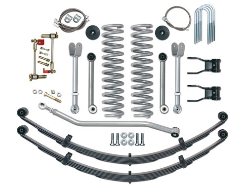 "XJ Kits Réhausses 4"" (10,16cm)"
