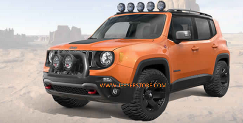 accessoires jeep renegade trailhawk. Black Bedroom Furniture Sets. Home Design Ideas