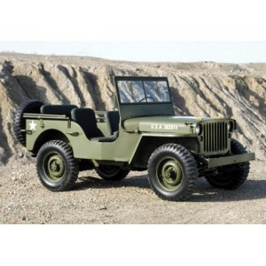 Willys MB, M201, CJ2, CJ3