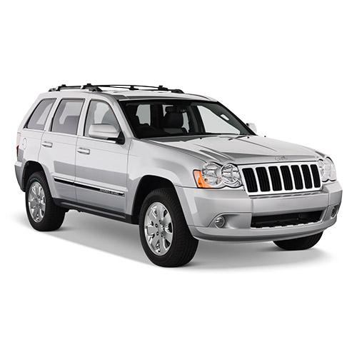 Jeep Lot de 4 Bouchons de Valve de Pneu en m/étal chrom/é pour Jeep Grand Cherokee Compass Renegade Wrangler Willys Commander Patriot Noir