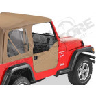 New Old Stock: Kit demi portes en toile, couleur Khaki Diamond Jeep Wrangler TJ