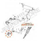 00K68024804AB Catalyseur 2.8L CRD Jeep Wrangler JK