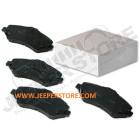 Kit de plaquettes de frein avant (Freinage BRY) Jeep Cherokee Liberty KK