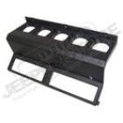 Plastique de tableau de bord (5 manos) couleur noir pour Jeep Wrangler YJ