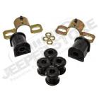 Kit silentblocs de barre stabilisatrice arrière et biellettes, diamètre: 16mm (polyuréthane) Jeep Wrangler TJ