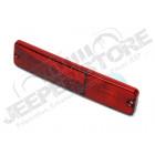 Feu de gabarit latéral arrière (couleur: rouge) Jeep CJ