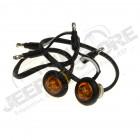 Kit de 2 clignotants LED couleur orange universel pour Jeep