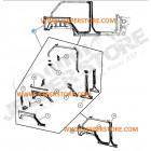 WWW.JEEPERSTORE.COM Aile arrière gauche complète à souder Jeep Wrangler JK Unlimited 4 portes