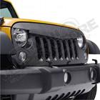 Calandre agressive (avec grille) Jeep Wrangler JK (à peindre)