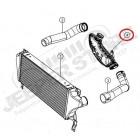 Boite résonateur intercooler 3.0L CRD Jeep Grand Cherokee WH, WK