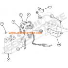 Tete de support de filtre à gazoil 2.5L TD (moteur VM) Jeep Grand Cherokee ZJ, ZG