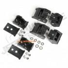 WWW.JEEPERSTORE.COM Kit d'attache capot en aluminium noir Jeep Wrangler JL et Wrangler JL Unlimited
