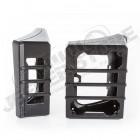 Kit protections de feux arrière couleur noire Jeep Wrangler JK