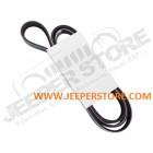 Courroie plate d'accessoires 2.4L essence (avec clim) Jeep Wrangler TJ