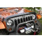 Déflecteur d'air de capot moteur (couleur fumé) pour Jeep Wrangler JK