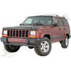 Déflecteur d'air de capot moteur (couleur fumé) pour Jeep Cherokee XJ