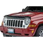 Déflecteur d'air de capot moteur (couleur fumé) pour Jeep Cherokee Liberty KJ