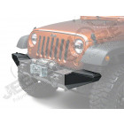 Embouts latéraux pour pare chocs avant XHD (parties latéraux rangement) (avec OU sans support de treuil), Jeep CJ7 Wrangler YJ et TJ