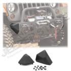 Embouts latéraux pour pare chocs avant XHD (parties latéraux petit) (avec OU sans support de treuil), Jeep CJ7 Wrangler YJ et TJ