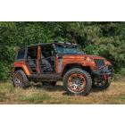 Barre supérieur X Striker pour pare chocs acier RR Jeep Wrangler JK, JL et Gladiator JT. (réf: 51-JS-5280 et 51-JS-5283)