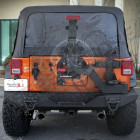 Porte de roue de secours XHD Gen 2 pour Jeep Wrangler JK (2 ou 4 portes)