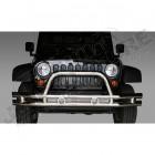 Pare chocs avant tubulaire acier / inox Jeep Wrangler JK