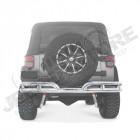 Pare chocs arrière tubulaire acier inox Jeep Wrangler JK