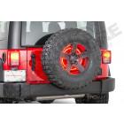 """3eme feu stop rond à LED pour roue de secours universel (pour jante de 15"""" , 16"""" , 17"""" , 18"""" , 19"""" , 20"""") (entraxe 5x139.7 , 5x114.3 , 5x127) Jeep CJ, YJ, TJ, JK, JL, KJ"""
