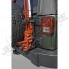 Fixation (support) de cric hi lift, farm jack, ... pour Jeep Wrangler JK