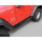Kit marche pieds tubulaire noir Jeep Wrangler JK (2 portes)