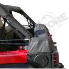 Etui de rangement noir pour bâche pliée Jeep Wrangler JK (2 portes)