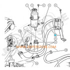 Kit de durites de direction assistée (pression et retour) 2.8L CRD Jeep Wrangler JK (n° 7 et 8 du schéma)