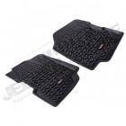 Kit de 2 tapis de sol avant en caoutchouc préformés (la paire) pour Jeep CJ5 , CJ6, CJ7, CJ8
