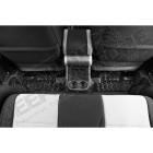 Tapis arrière caoutchouc noir préformé , Jeep Wrangler JK (2 portes)