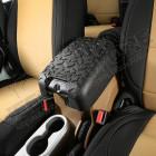 Housse de couvercle de console centrale (couleur: noir) Jeep Wrangler JK