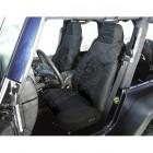 Kit de housses de sièges avant couleur: Black Diamon (noir) Jeep Wrangler TJ