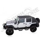Bâche complète TrailView Fastback Rampage pour Jeep Wrangler JK Unlimited (4 portes)