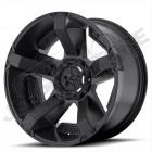 Jante aluminium noir mat RockStar XD811 RSII - 5x127 - 9x20 - ET: +30