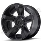 Jante aluminium noir mat RockStar XD811 RSII - 5x127 - 9x18 - ET: 0