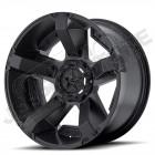 Jante aluminium noir mat RockStar XD811 RSII - 5x127 - 8x17 - ET: +10