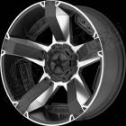 Jante aluminium RockStar XD811 RSII Machined face - 5x127 - 8x17 - ET: +10