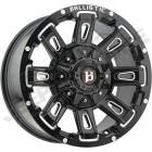 Jante aluminium 958 Black Full Machined - 5x127 - 9x17 - ET: -12