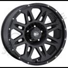 Jante aluminium Pro Comp série 7005 Satin Black 5x127 , 9x17 , ET: -6