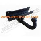 Crochet d'attelage Europe (3100kg) démontage sans outils, Jeep Wrangler JK