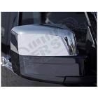 Kit d'enjoliveurs chromé pour rétroviseurs Jeep Cherokee Liberty KK