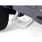 Kit de marche pieds aluminium poli Jeep Wrangler TJ (la paire)
