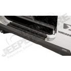 Protection de bas de caisse latérales et seuil de porte en plastique noir, 2 portes, Wrangler JK vendu par paire (gauche et droite)