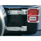 Kit charnières de ridelle de coffre acier inox Jeep Wrangler JK