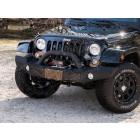 Pare chocs avant acier Atlas avec porte treuil Jeep Wrangler JK